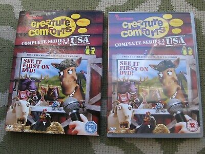 Creature Comforts 3 In The Usa Dvd • 9.99£