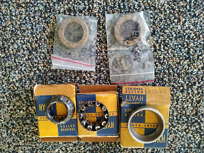 AU240 • Buy NOS 2 X STEERING BOX BEARINGS & 1 CUP + 2 SEALS SUITS FX 48-215 FJ HOLDEN COLUMN