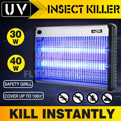 AU45.96 • Buy 40W Electric UV Mosquito Fly Insect Pest Killer Bug Zapper Trap Lamp In/outdoor