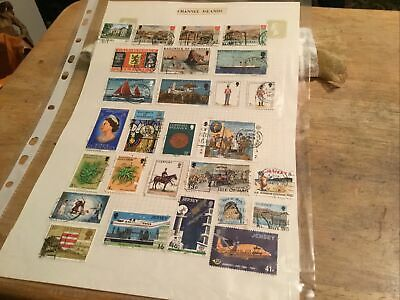 Guernsey Used Stamps Lot • 0.60£