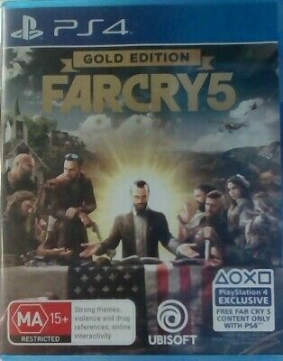AU17.95 • Buy Farcry 5 Gold Edition - Playstation 4 PS4