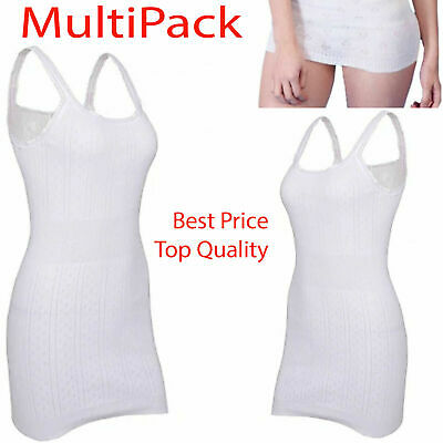 £4.99 • Buy Multi Pack Ladies Snowdrop Girls Thermal French Neck Soft Vest Tops Long Johns