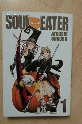 Soul Eater Volume 1 Manga With Exclusive Loot Crate Cover. New And Unread. • 25£