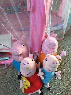 Peppa Pig Family,mummy ,daddy ,peppa And George ,soft Toys  • 3.10£