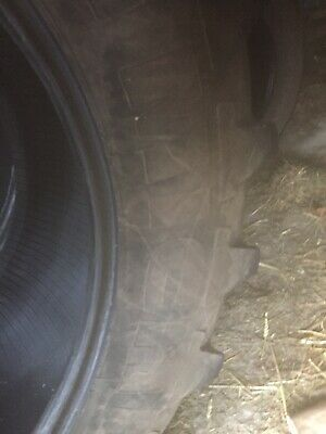 Michelin Tractor Tyres 20.8/38 With 16.9/28 Michelin Fronts Massey/ Deere John • 20£
