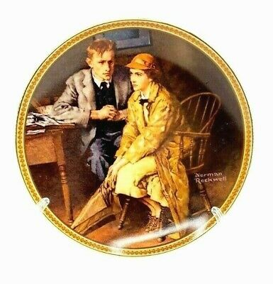 $ CDN12.51 • Buy Vintage Norman Rockwell Rediscovered Women  Confiding In The Den  Plates