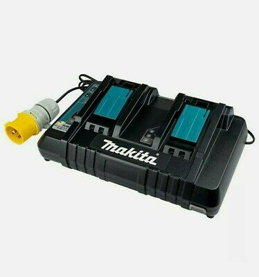 110v MAKITA DOUBLE/TWIN-PORT FAST CHARGER - DC18RD • 81£