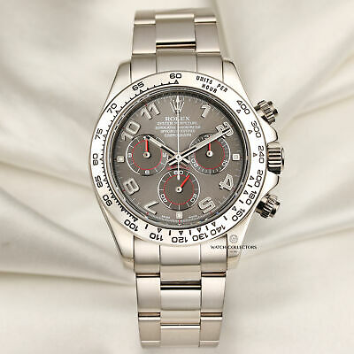 $ CDN49215.61 • Buy Rolex Daytona 116509 18k White Gold Racing Dial