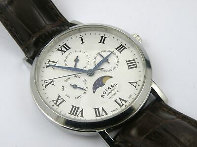 Mens Rotary Moonphase GG05325/20 Watch - 50m • 99.95£