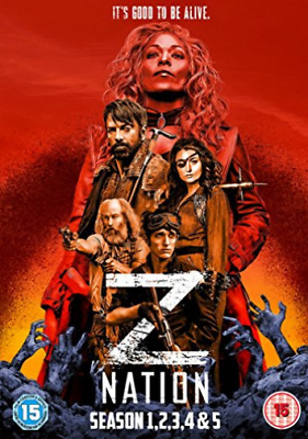 AU43.21 • Buy Z Nation: Season 1-2-3-4-5 Box Set Dvd New