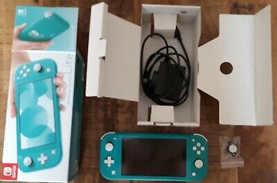 AU220 • Buy Nintendo Switch Lite 32GB  - Teal - Repaired See Description For Details