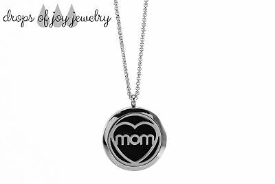 AU41.19 • Buy Diffuser Necklace - Mom's Heart