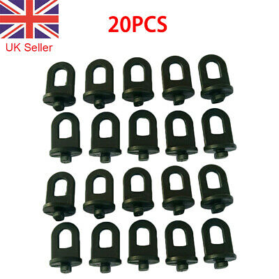 20Pcs Plastic Greenhouse Hanging Crop Hooks Hangers Clips Garden Accessories • 7.75£