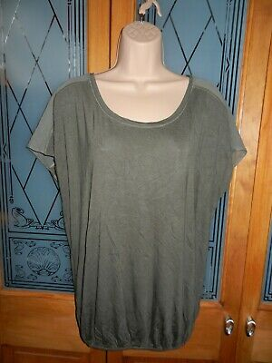 M&S (Limited Collection) Khaki Green Top Size 12 • 2£