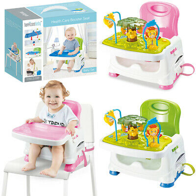 Travel Portable Baby Feeding High Chair Booster Seat Activity Play Table W/ Tray • 42.96£