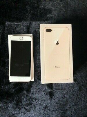 IPhone 8 Plus, EE, 64GB, Rose Gold, Pre Loved In Very Good Condition • 150£