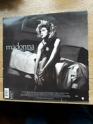 Madonna - Like A Virgin Vinyl Album  LP 1985 • 3£