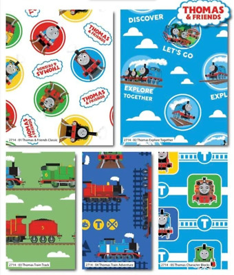 £13.55 • Buy Thomas The Tank Engine - Thomas And Friends Classic Fat Quarter Pack