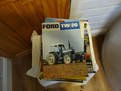 Tractor And Farm Machinery Brochure Pack 4 • 21£