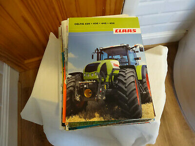 Tractor And Farm Machinery Brochure Pack 3 • 10£