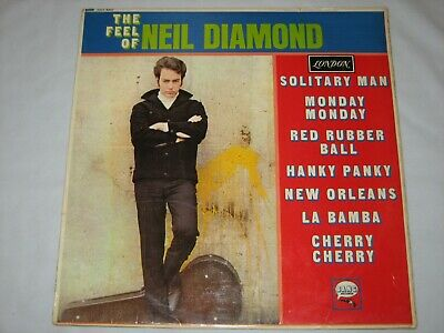 Neil Diamond ‎  The Feel Of Neil Diamond   London Records ‎ HAZ 8307  LP 33rpm • 24.99£