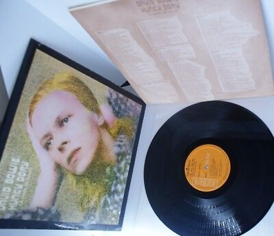 Spain  Hunky Dory Original Fully Laminated + Inner Sleeve David Bowie Lp  • 110£