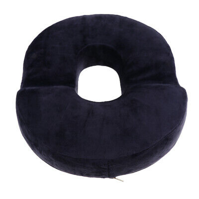 Donut Seat Cushion Pillow Chair Pad Hemorrhoids Pregnancy Pain Relieve Navy • 12.63£