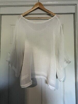 AU20 • Buy Country Road Size 16 Sheer Mesh Top EUC