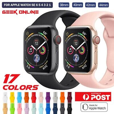 AU5.95 • Buy For Apple Watch IWatch Series 6 5 4 3 2 1 Replacement Strap Band 38mm 40 42 44mm