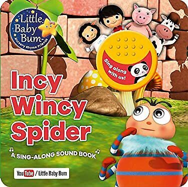 £12.02 • Buy Little Baby Bum Incy Wincy Spider: A Sing-Along Sound Book