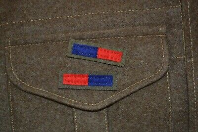 British Army Ww2 Arm Of Service Insignia Strips Royal Engineers Artillery Reme  • 4.20£