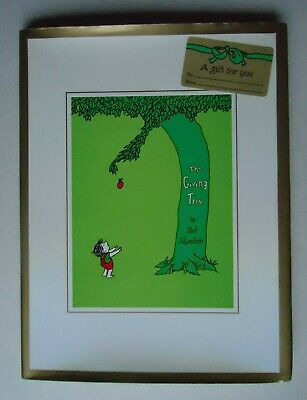 The Giving Tree, Shel Silverstein, Hardback Book With Special Edition Dust Cover • 6.99£