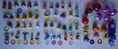 Pokemon Bundle, Original TOMY Figures 1999, Pokeballs, Tazos/Coins, 85+ Items • 85£