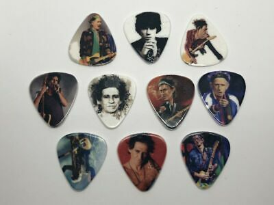 $ CDN12.14 • Buy Keith Richards Guitar Picks Set (10 Picks/10 Diferent Designs) New Sealed