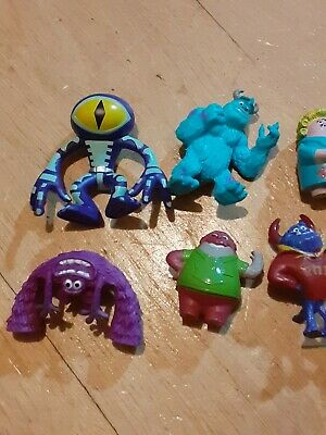 Monsters Inc Figures Toys Mini Cake Toppers • 6.50£