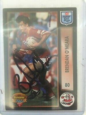 AU35 • Buy 1994 AUS Rugby League Series 1 Card No80 Hand Signed By Brendan O'Meara