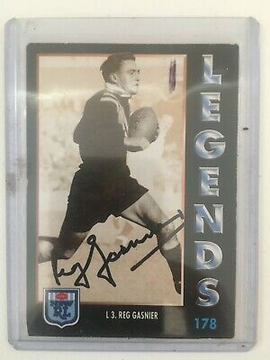 AU200 • Buy 1994 AUS Rugby League Series 1 Card No176 Hand Signed By Reg Gasnier St George.