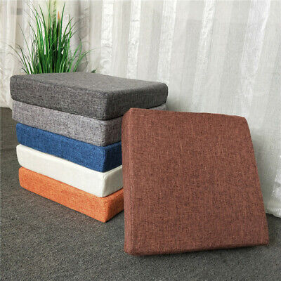 AU25.60 • Buy Square Thick Chair Sofa Seat Pads Sponge Cushion Office Dining Room Booster Mat
