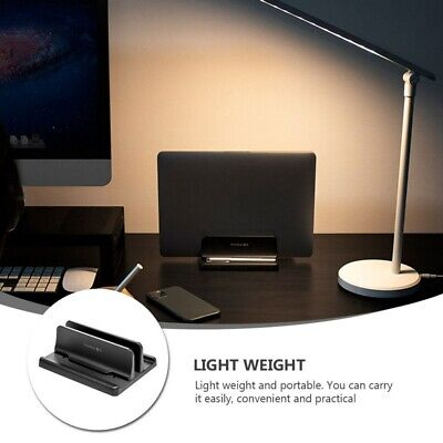 AU17.59 • Buy Vertical Laptop Tablet Holder Stand Space-saving Rack For MacBook Notebook NEW