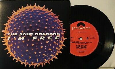 AU0.55 • Buy The Soup Dragons - I'm Free / Lovegod Dub 7  Vinyl Record