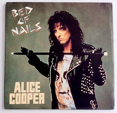 "AU9.99 • Buy Alice Cooper  ‎– Bed Of Nails 7"" Vinyl Record 45 Australia 1989 NM/EX"