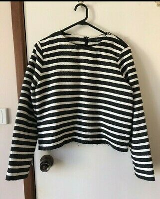 AU15 • Buy Zara Striped Top Size 8