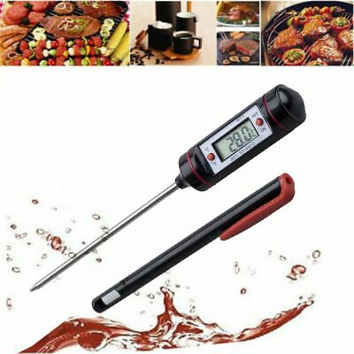 £6.55 • Buy Kitchen Cooking Temperature Gauges Food Thermometer Selectable C/F BBQ Tool