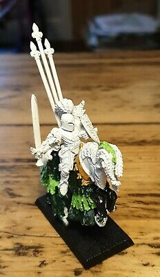 Warhammer Fantasy Bretonnian The Green Knight * Metal * Painted * OOP * • 37.99£