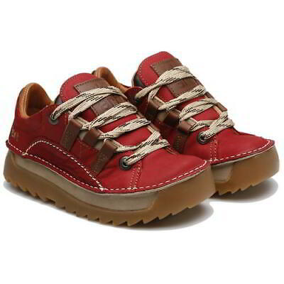 Art Skyline 590 Mens Womens Red Chunky Lace Up Trainers Shoes Size UK 4-12 • 109.99£