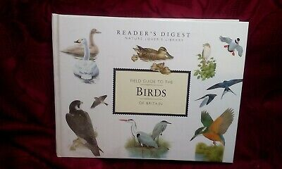 Readers Digest Natures Lovers Library Field Guide  To Birds Of Britain • 6.99£