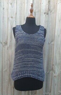 AU10 • Buy Womens Knitted Sleeveless Top Size Medium Massimo Dutti