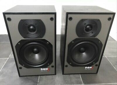 $ CDN221.44 • Buy B&W DM100i Bowers And Wilkins Black Floor Standing Speakers Audiophile England