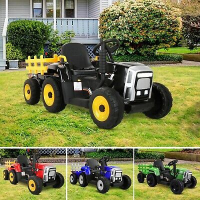 AU199.99 • Buy 12V Kids Ride On Tractor Toy Electric Car Battery Kids Operated Toddlers Child