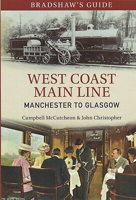 Bradshaw's Guide West Coast Main Line Manchester To Glasgow: Volume 10, Book • 9.99£